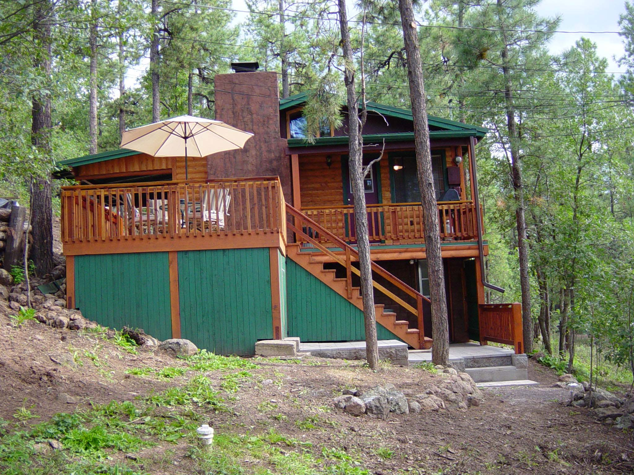 mountain rentals meadows arizona cabin cabins