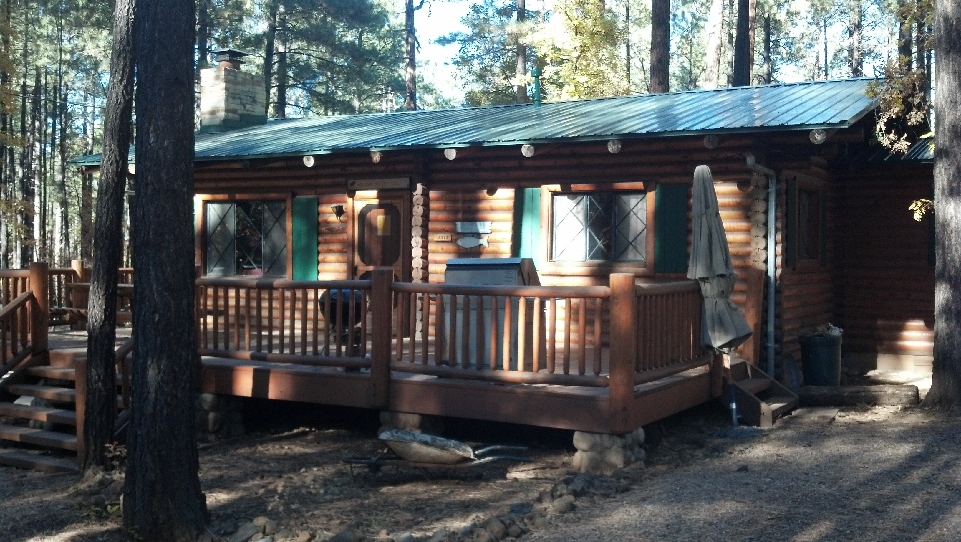 accommodations from cabins sm view pinetop outside vista fishing cabin rentals