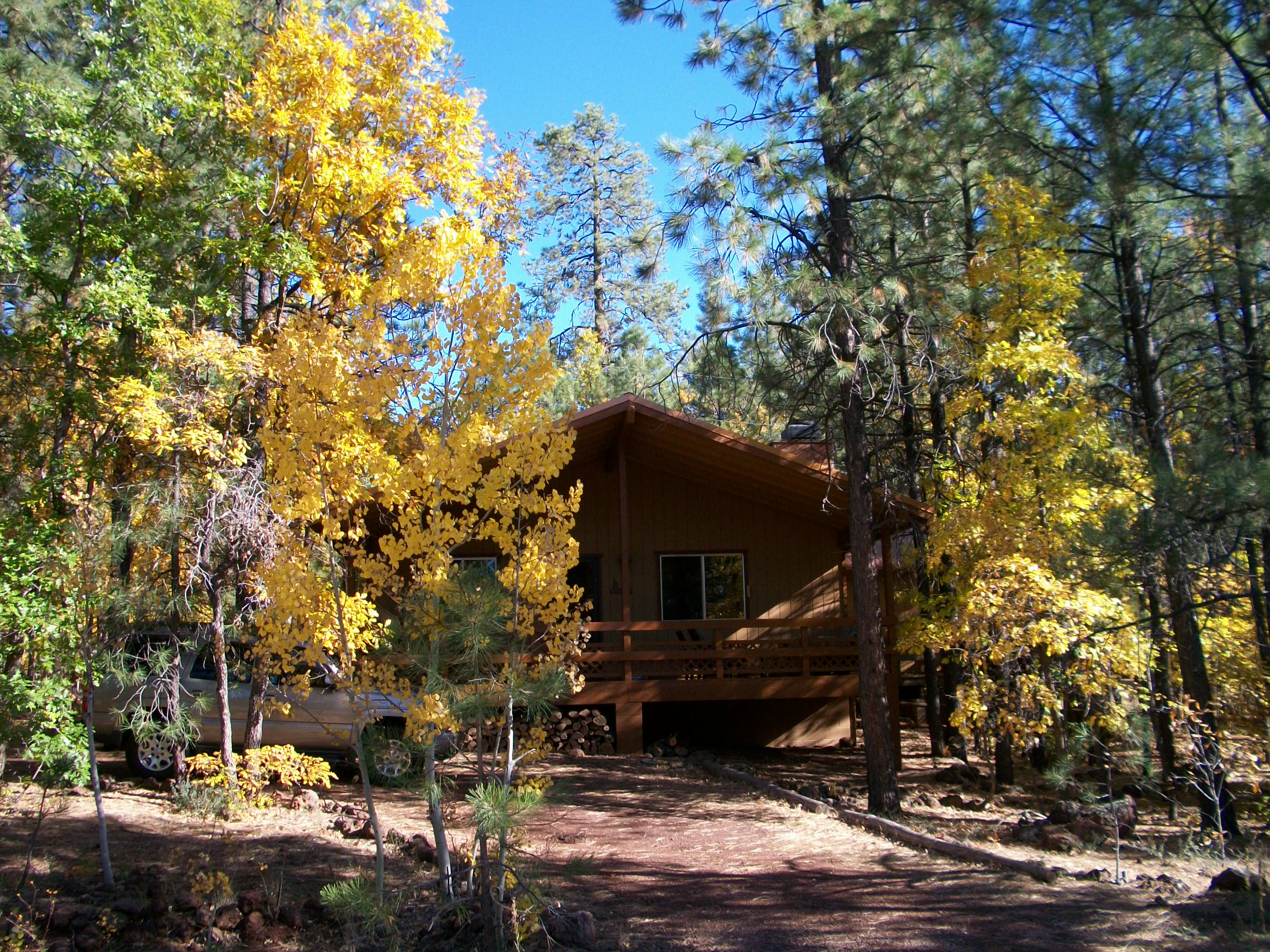 photo protected white az rental mountains of ski cabins pinetop in x cabin rentals